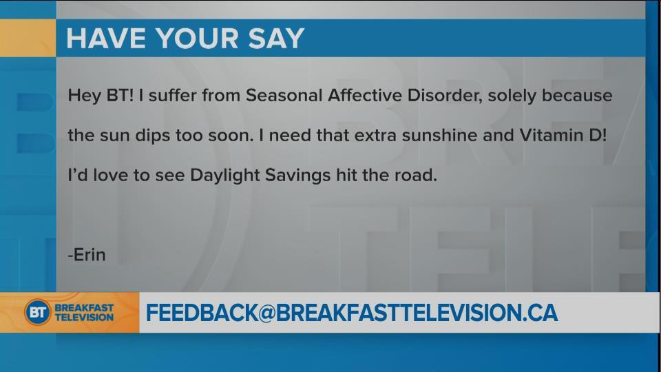 National Sound Off: Should Canada end Daylight Savings Time? (2)