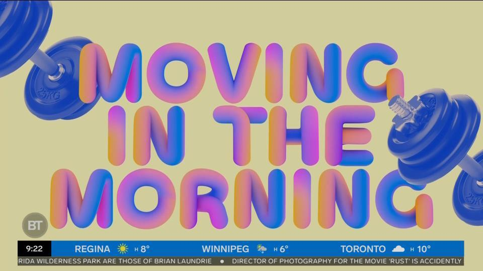 Movin' in the Morning: A hip-hop workout!