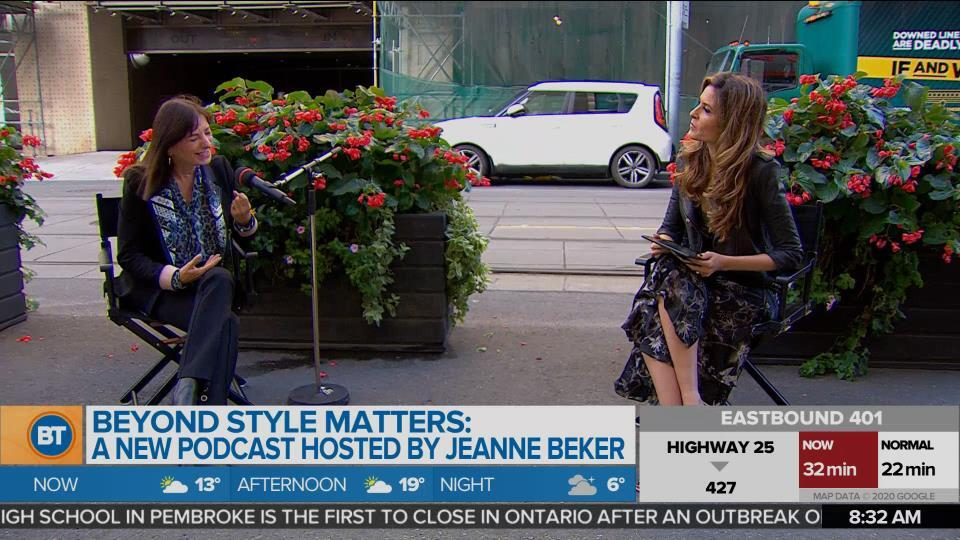 Beyond Style Matters: A new podcast hosted by Jeanne Beker