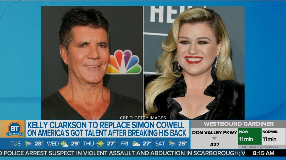 Kelly Clarkson to take over for Simon Cowell on AGT