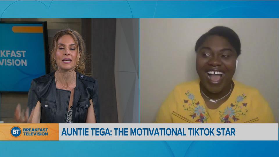 BT Bright Spot: Auntie Tega, the motivational TikTok star
