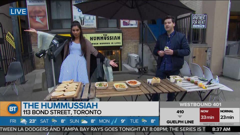 Foodie Fridays: The Hummussiah!