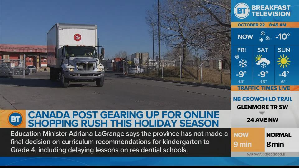 Canada Post gearing up for Online Shopping