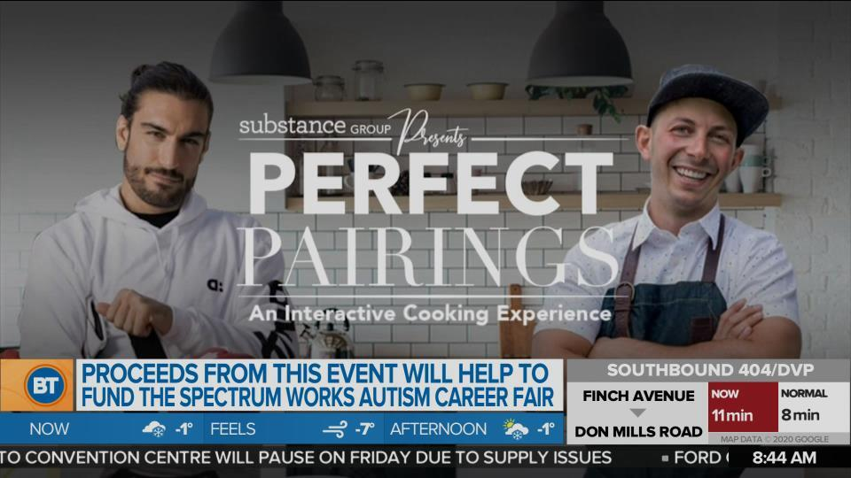 A Virtual Cooking Event With a Chef and MMA Fighter