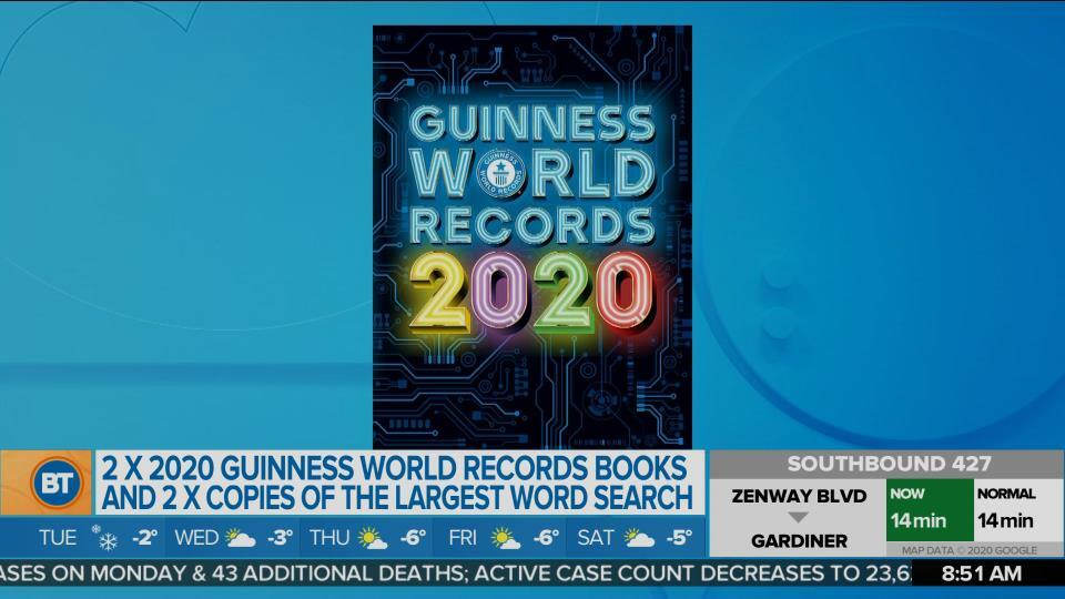 Enter the Guinness World Records Museum Giveaway