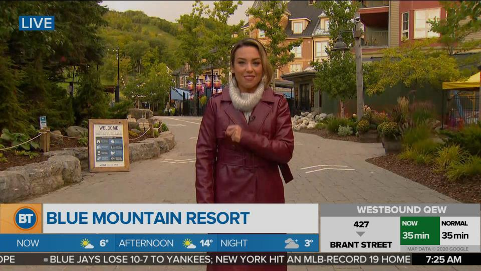 Nicole is LIVE at Blue Mountain Resort (2 of 5)