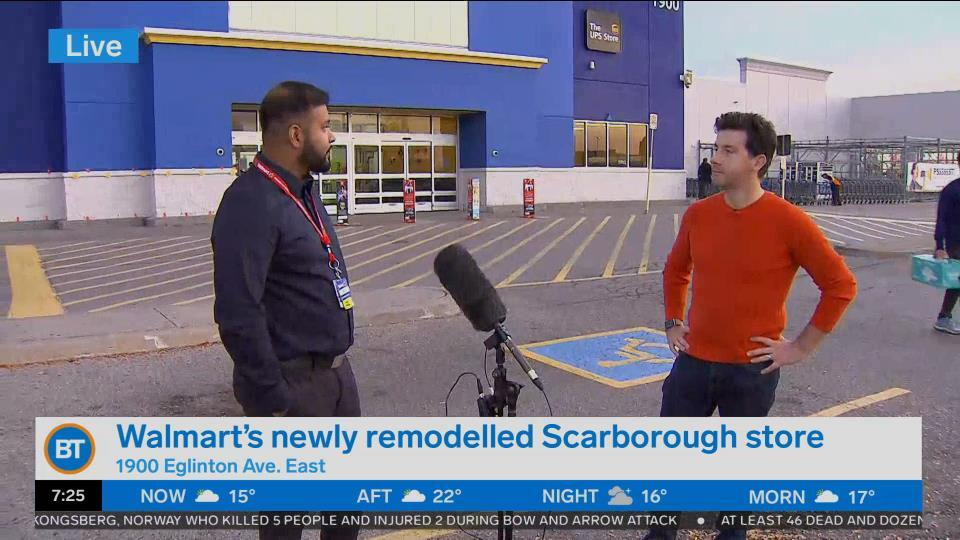 Check out the newly remodelled Walmart in Scarborough!