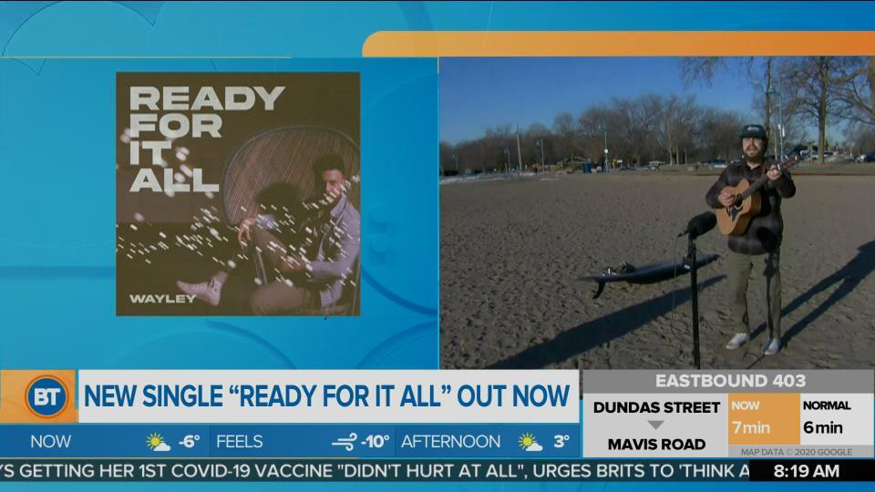 Nicole is LIVE with Wayley at the Beach (3 of 3)