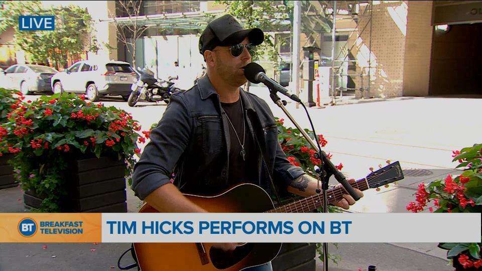 Tim Hicks LIVE on BT