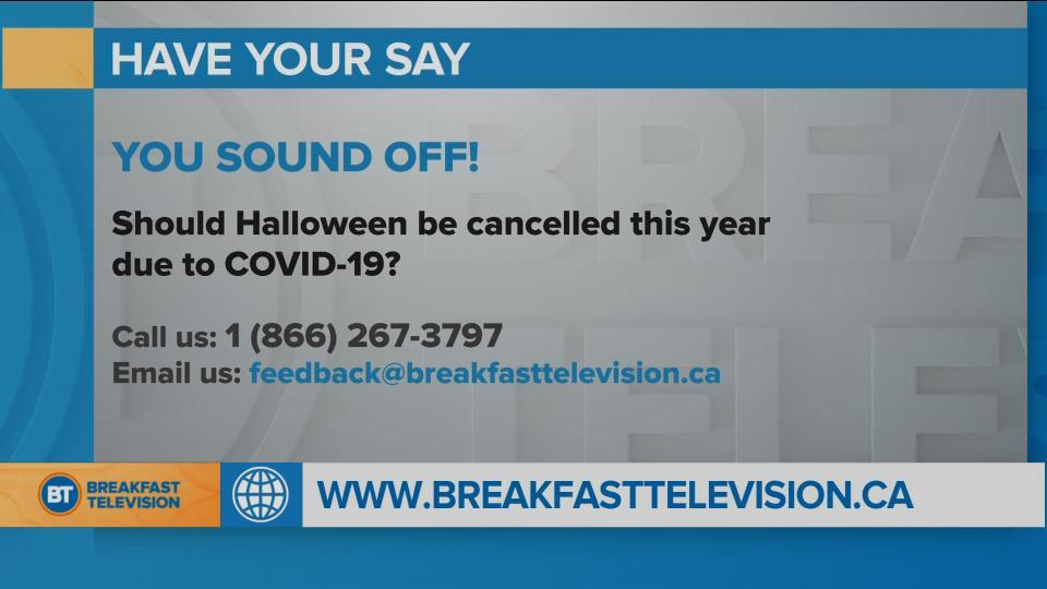 You Sound Off: should Halloween be cancelled this year?