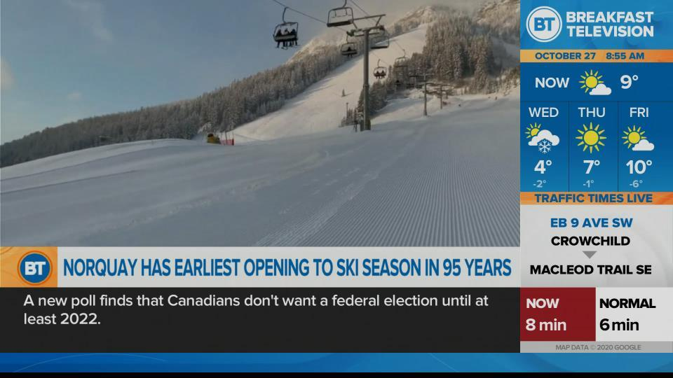 Norquay has first early opening in 95 years