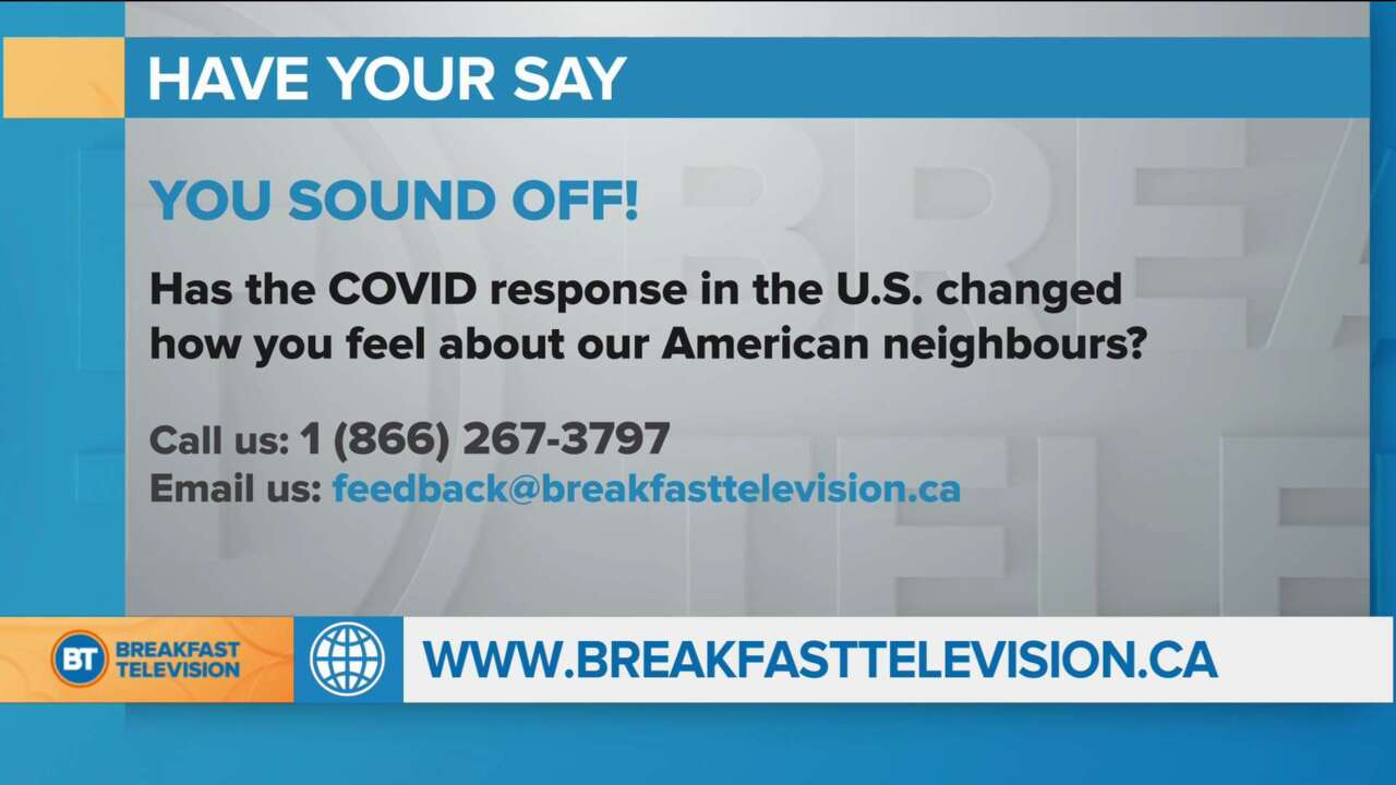 Has the COVID response in the U.S. changed how YOU feel about our American neighbours?