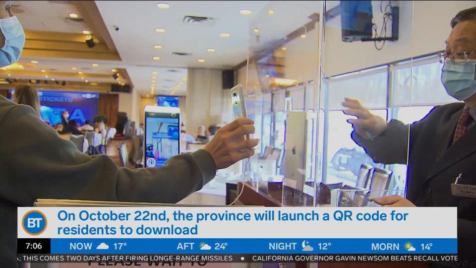 Ontario releases details on vaccine passport system