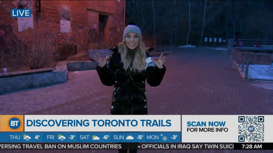Nicole is LIVE at Evergreen Brick Works Trails (1 of 3)