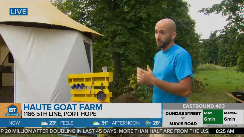 Road Less Travelled Academy at Haute Goat Farm