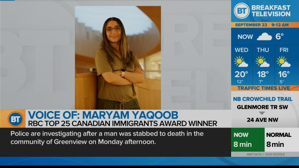 U of C Med Student named top 25 Canadian Immigrant