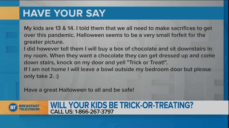 National Sound Off: Will your kids be trick-or-treating? (2)