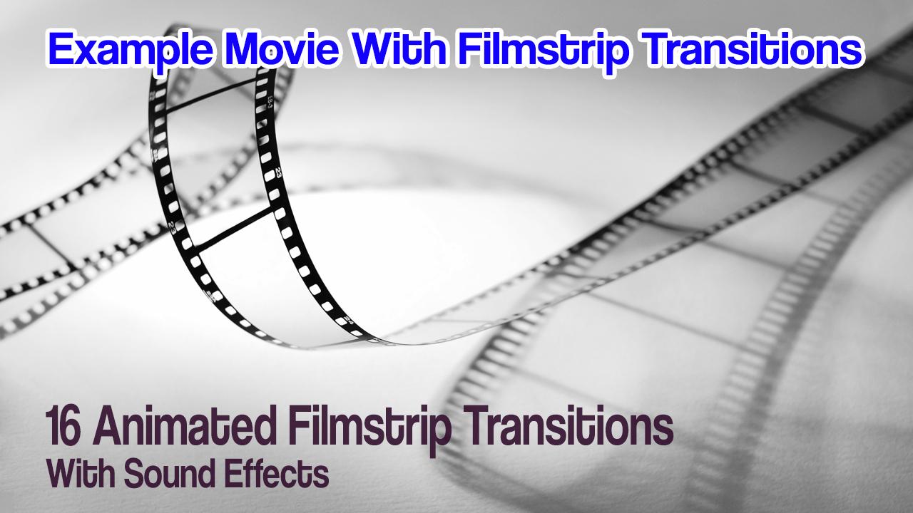 Premium Pack: 16 Animated Filmstrips W/Sound FX