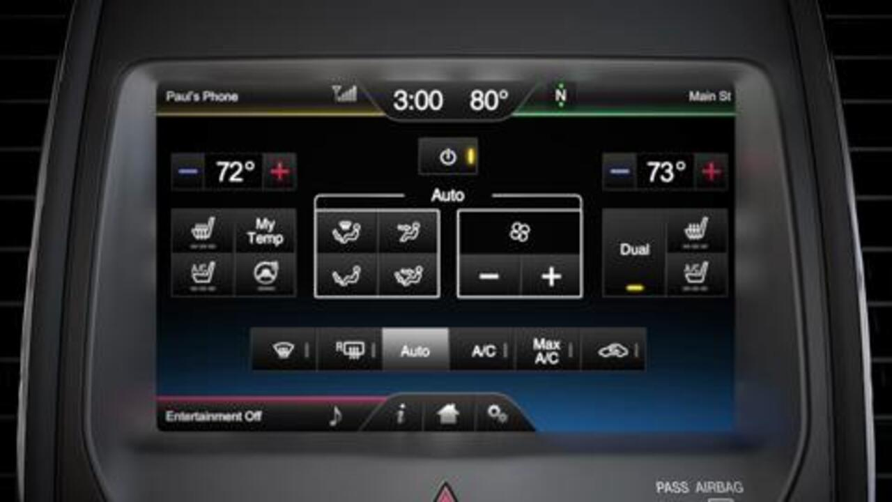 Setting And Adjusting Climate Controls Sync Official Ford