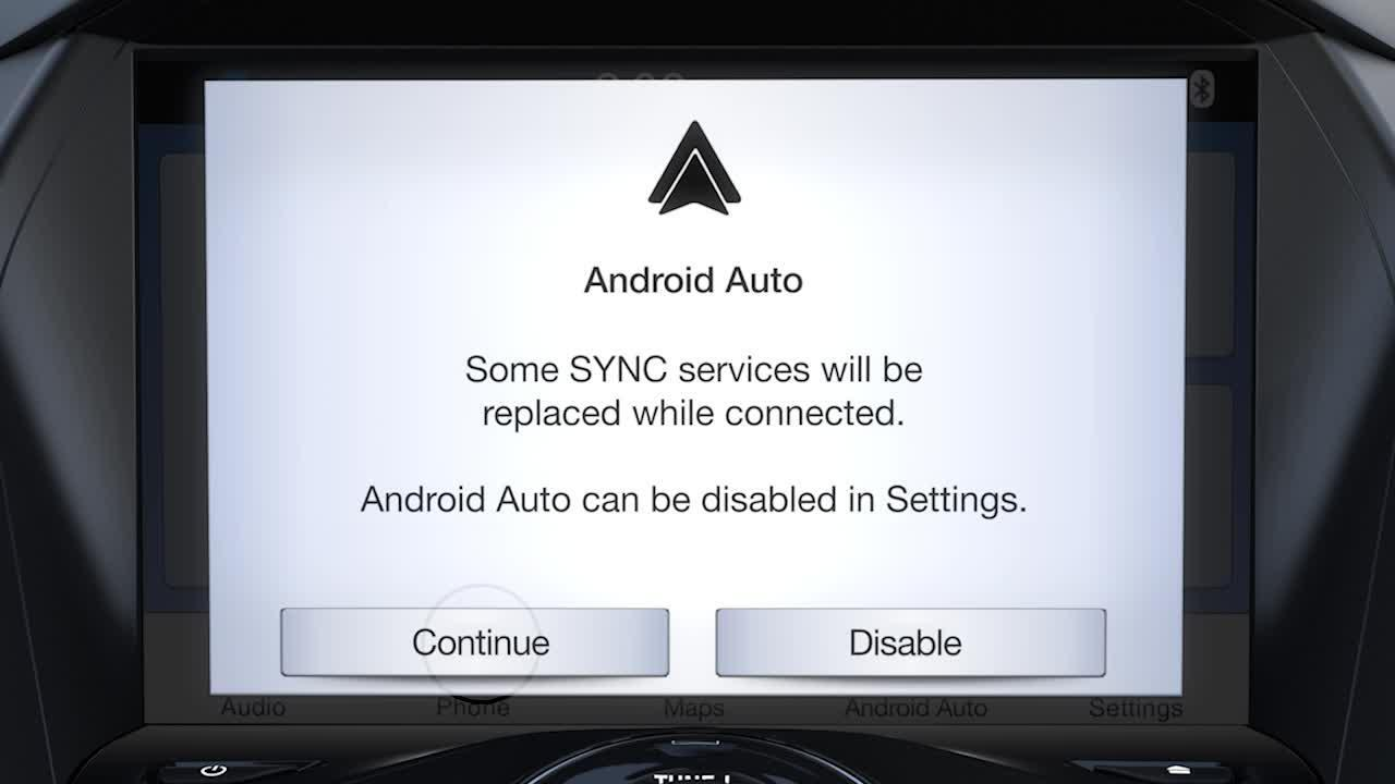 Sync 3 Plus Android Auto
