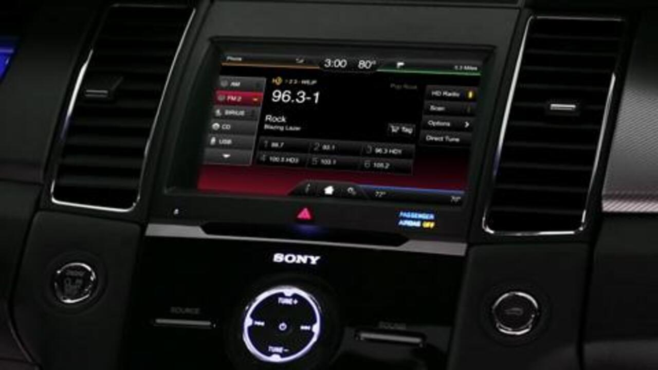 Hd Radio Technology Vehicle Features Official Ford Owner Site