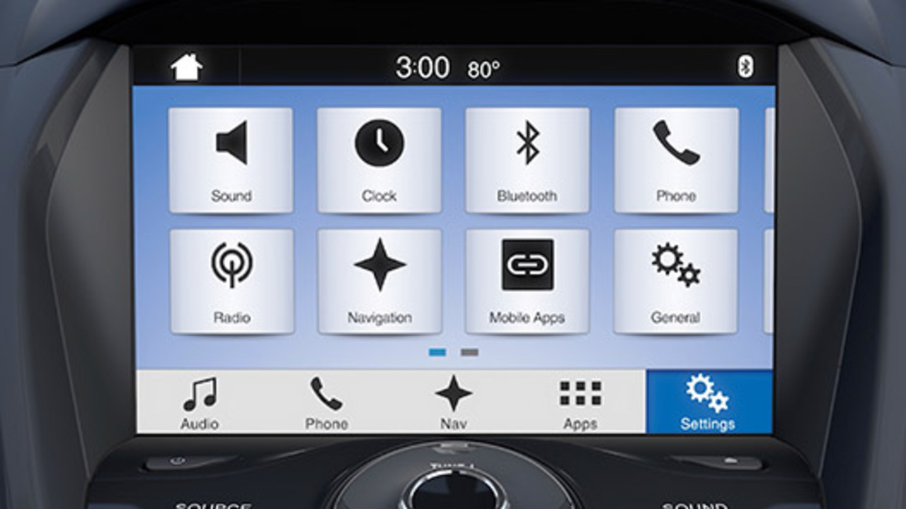 Sync 3 Settings Overview Sync Official Ford Owner Site