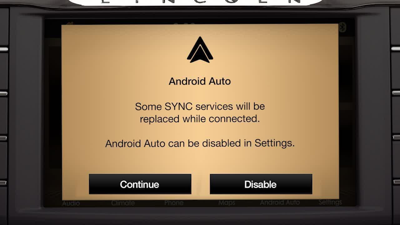 Sync 3 Plus Android Auto Lincoln How To Video Official Lincoln Owner Site