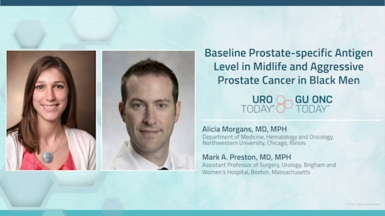 Baseline PSA Level in Midlife and Aggressive Prostate Cancer
