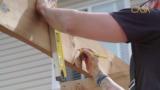 Construire le toit d'une pergola