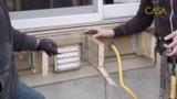 Quoi éviter sous un patio pour le rendre conforme?