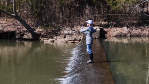 Youth Trout Fishing Derby at Robbers Cave State Park