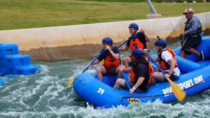 Riversport Adventure Park at the Boathouse District with Oklahoma's Lt. Gov. Matt Pinnell