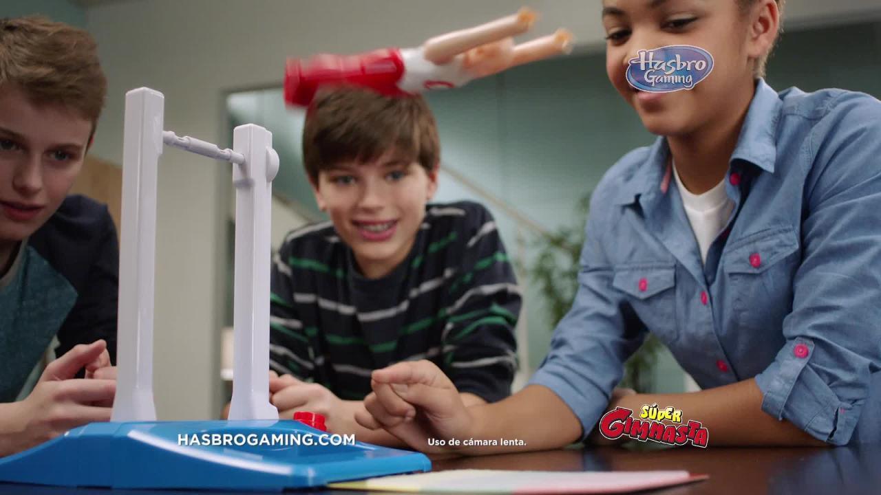 'Súper Gimnasta' - Hasbro Gaming Latino América
