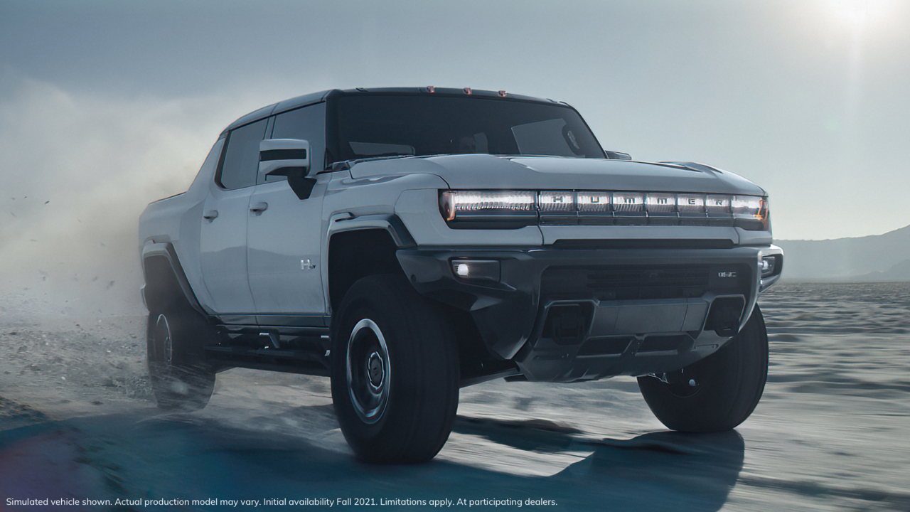 Introducing The Gmc Hummer Ev Electric Truck