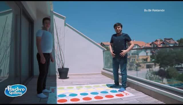 Buğra Kazancı ile Eğlenceyi Katla! Twister+Yastık