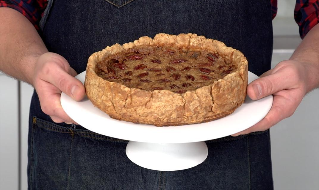 How to make a giant maple butter tart