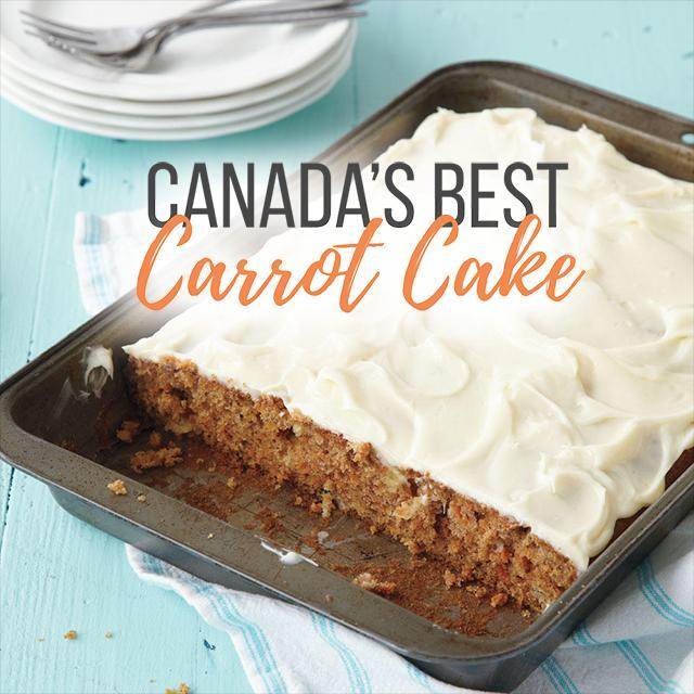 Canada's Ultimate Carrot Cake With Cream Cheese Icing