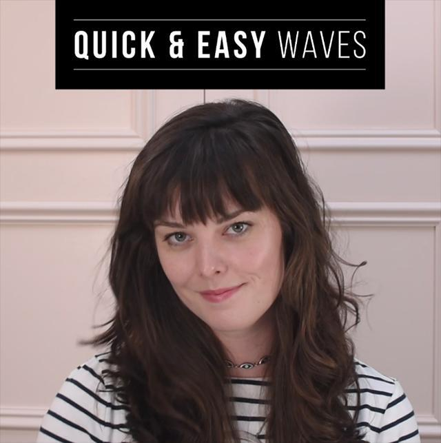 How to do quick and easy waves