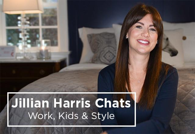 Jillian Harris Chats Work, Kids and Style