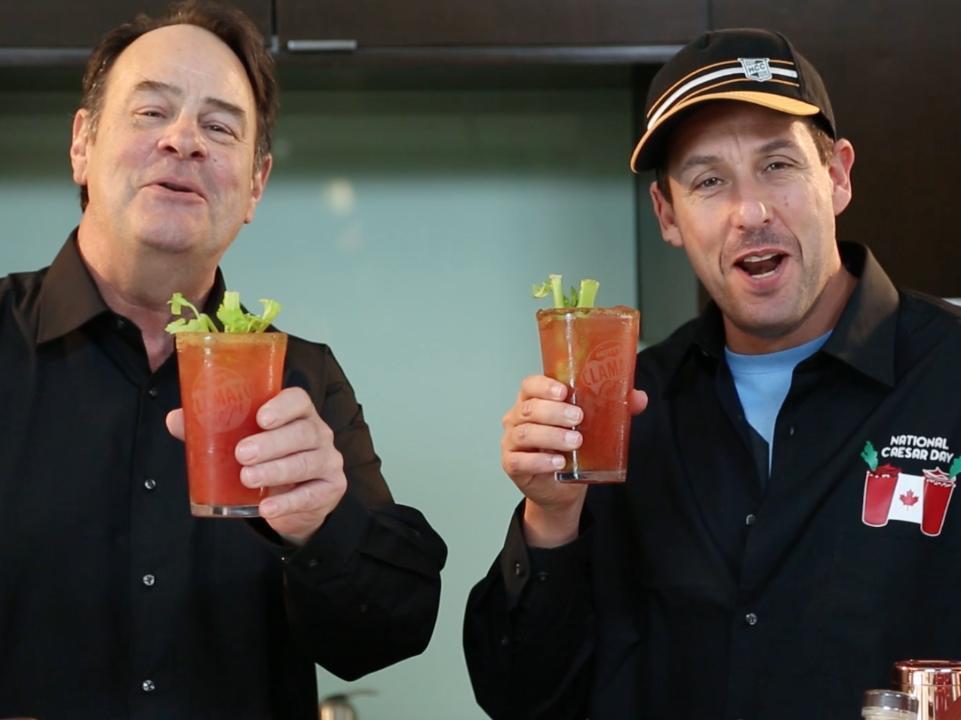 Making Caesars with Dan Aykroyd and Adam Sandler