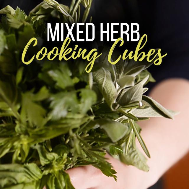 Mixed Herb Cooking Cubes
