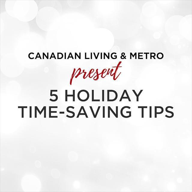 5 Holiday Time-saving tips