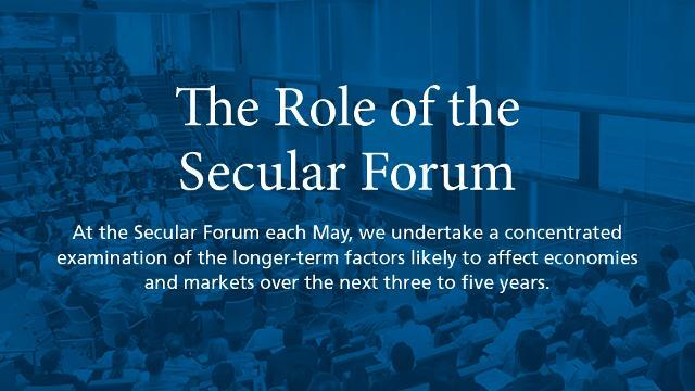 The Role of the Secular Forum in our Investment Process