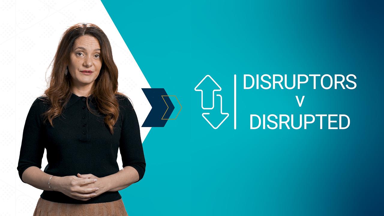 Disruptors v Disrupted