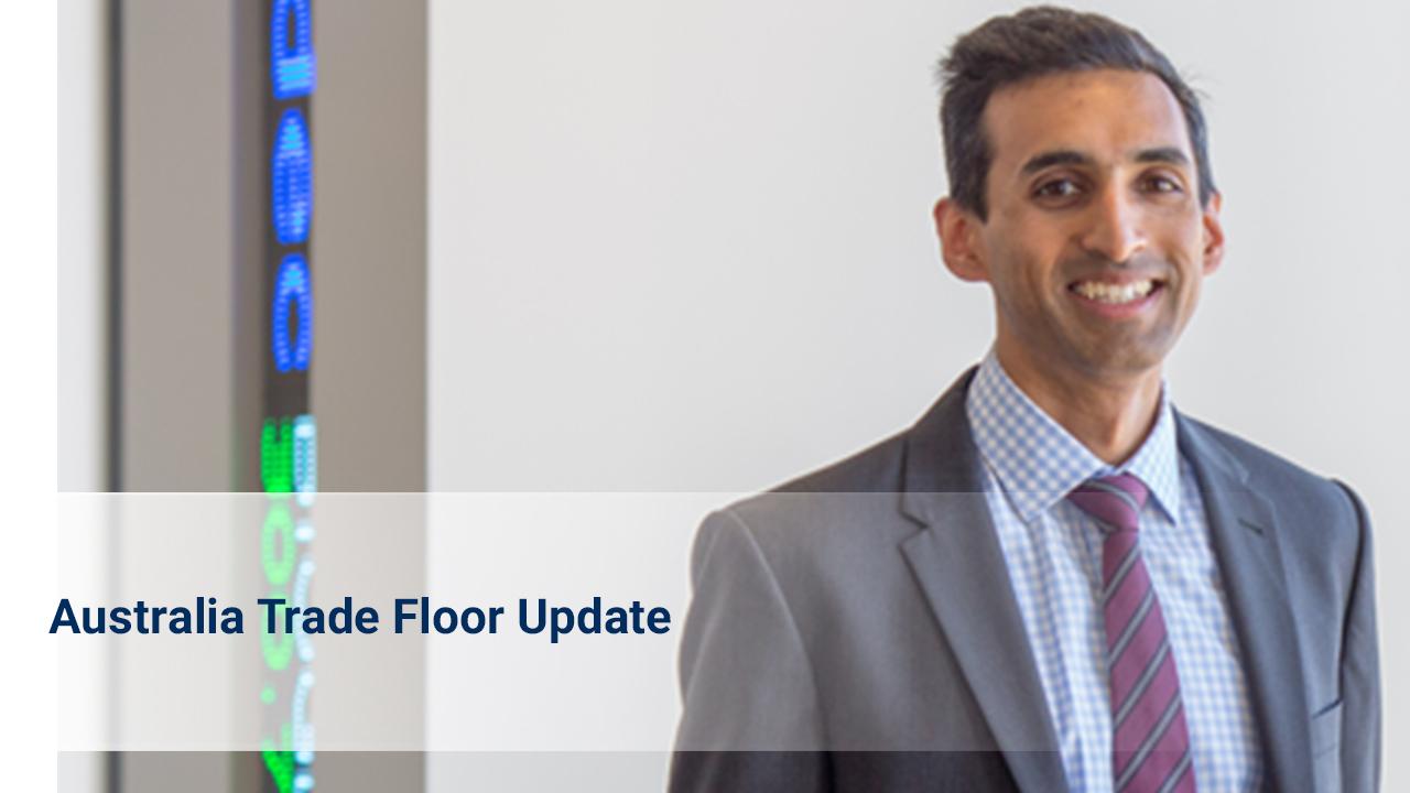 October 2021 Update from the Australia Trade Floor