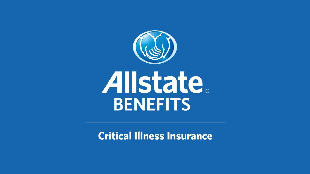 Allstate Employee Benefits >> Critical Illness