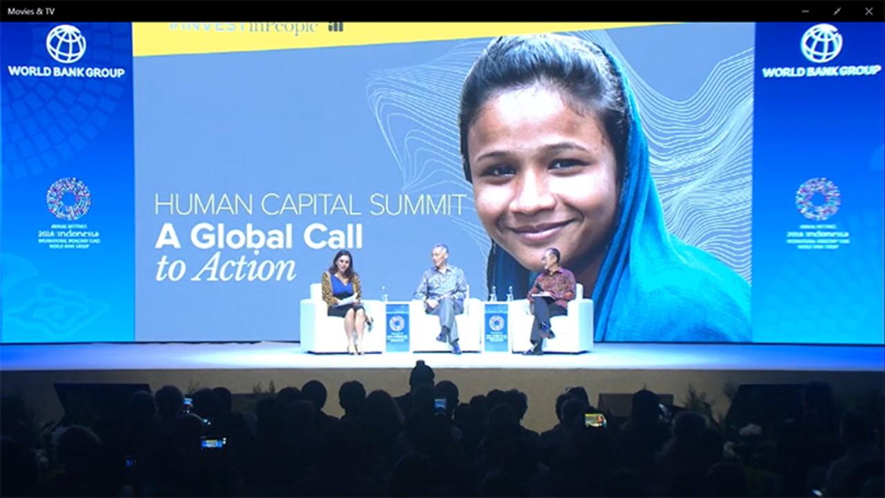 Sommet sur le Capital Humain 2018