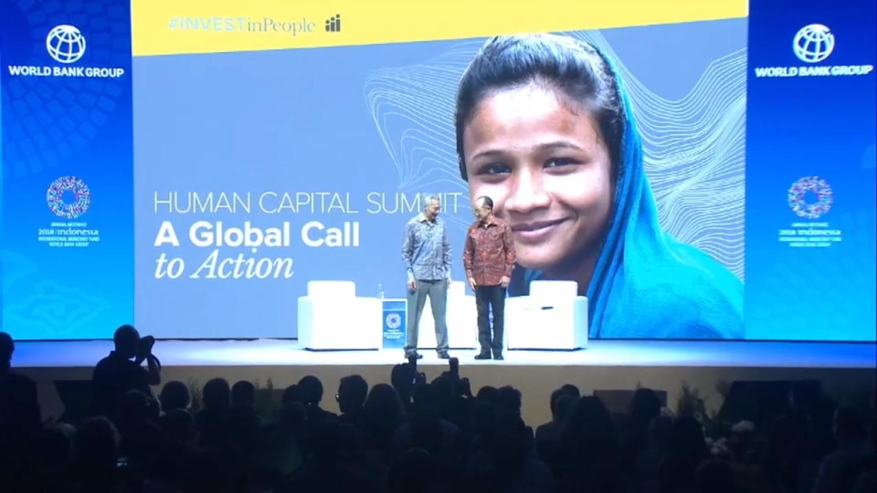 قمة رأس المال البشري: دعوة عالمية إلى العمل