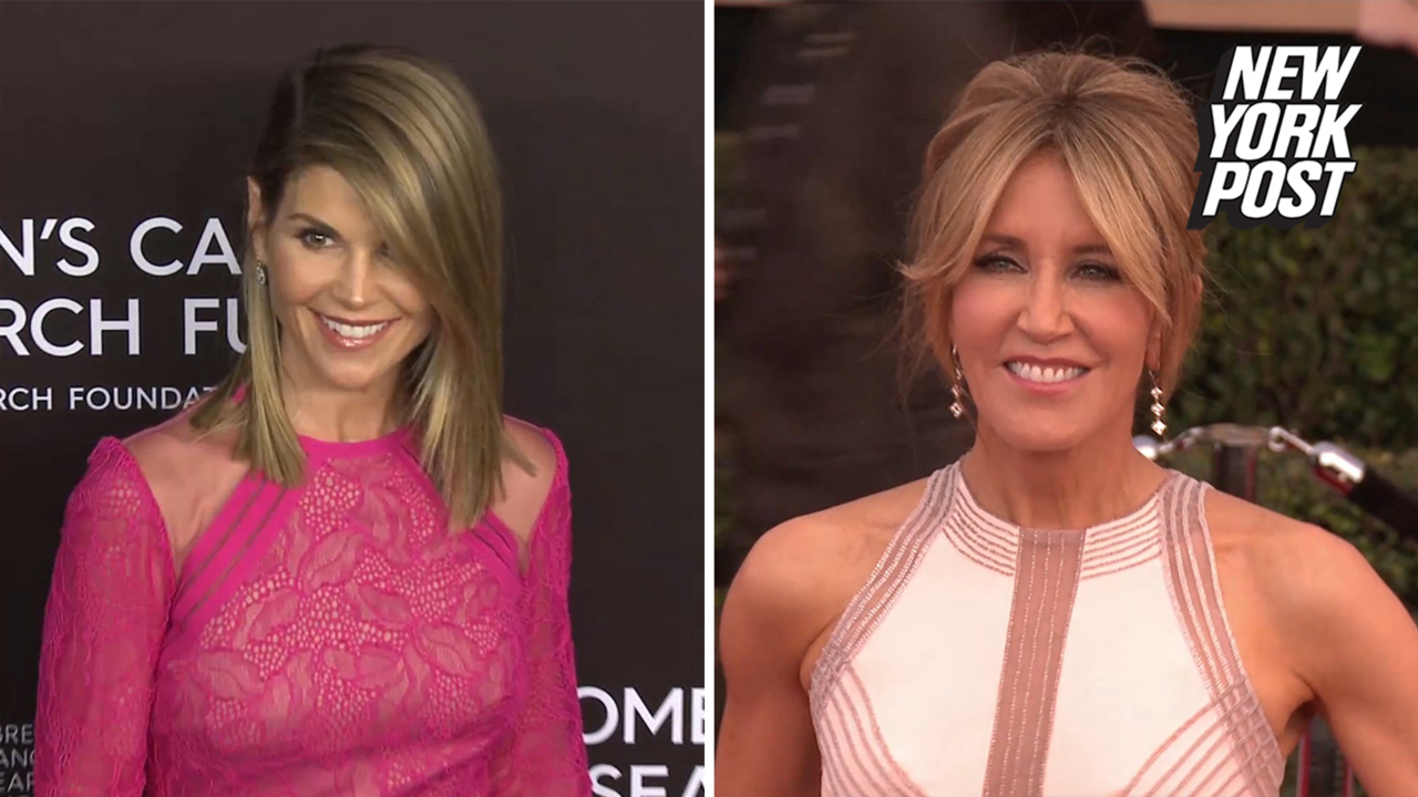 Felicity Huffman, Lori Loughlin busted in college admissions cheating  scandal