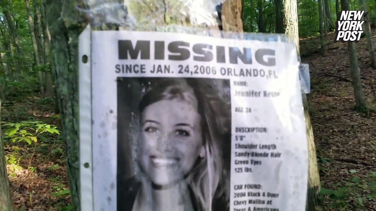 Dozens of creepy 'Missing Person' signs were discovered by a